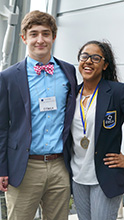 photo of DECA leaders