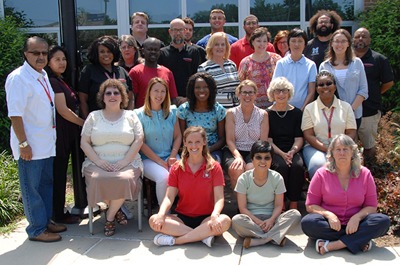 Group Photo of the Special Education Department